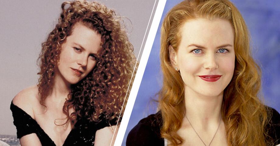 Nicole kidman i två olika frisyrer