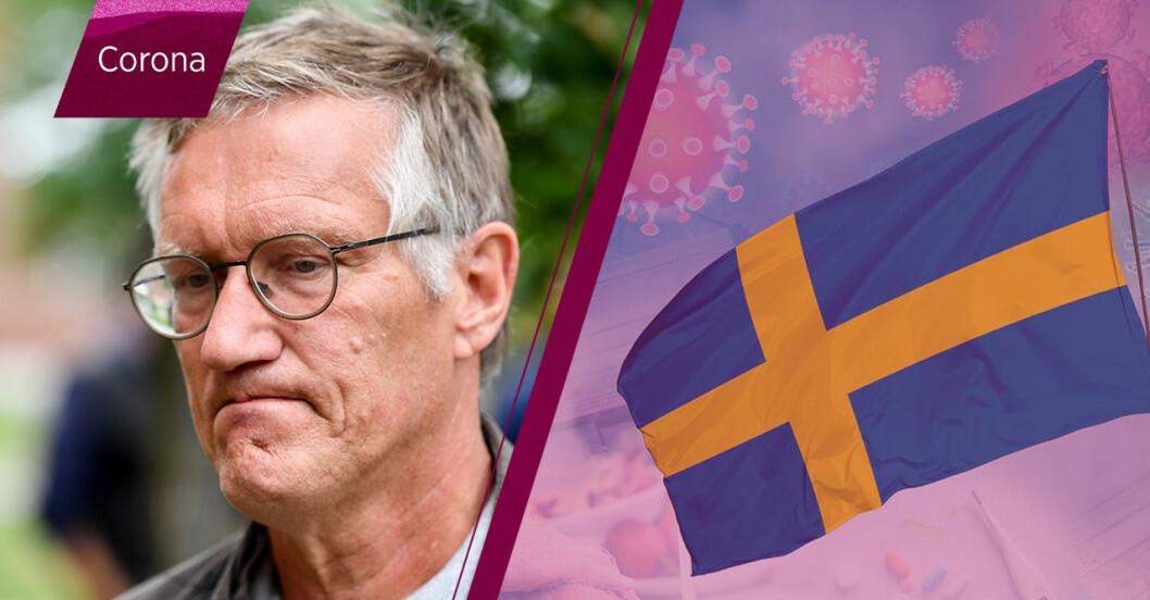 Anders Tegnell om senaste nyheterna om corona i Sverige