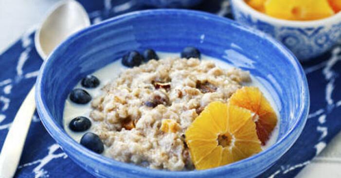 nyttig frukost om du vill gå ner i vikt