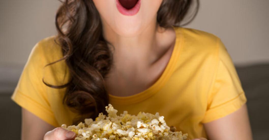 Popcorn är lika nyttigt som grönsaker
