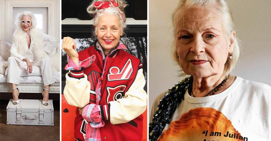 Inspirerade kvinnor som visar att åldern bara är en siffra.