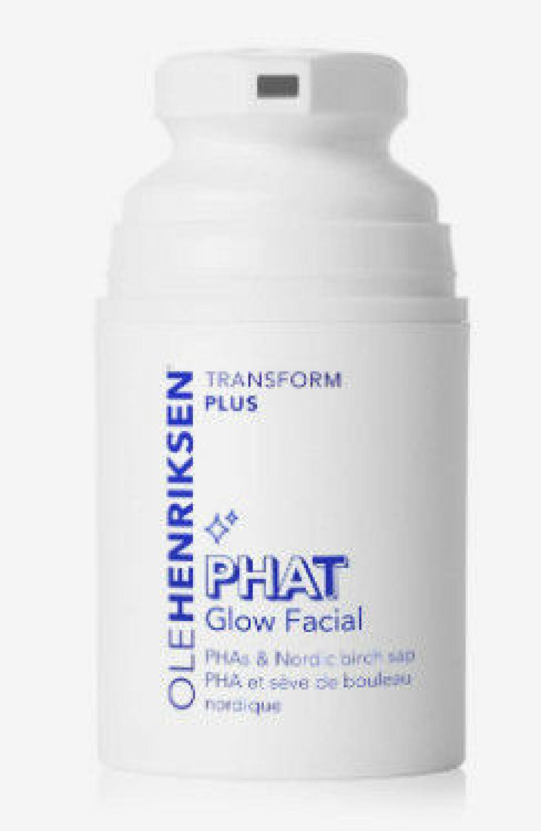 Phat Glow Mask är en ansiktsmask med olika syror