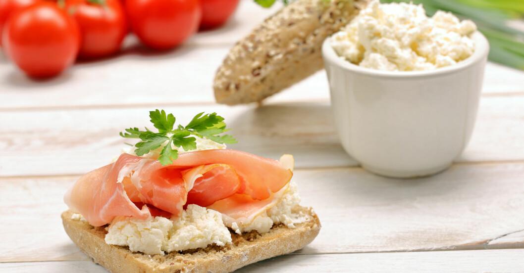 Keso och skinka är bra att äta vid 5:2-dieten.