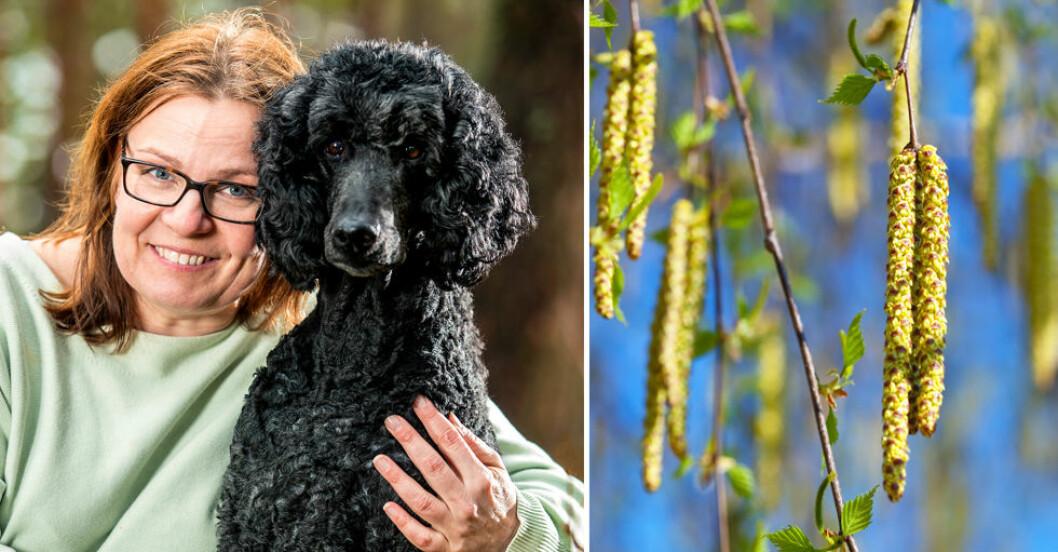 Tack vare andnings- teknik har Pernilla sluppit sina allergier mot pollen, pälsdjur och damm.