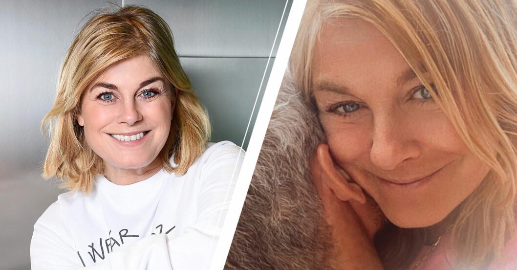 Pernilla Wahlgren om pausen i relationen med Christian Bauer