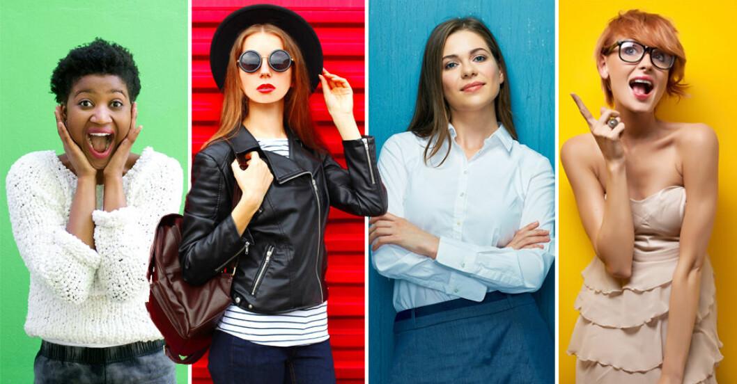 Vilken färg är din personlighet? Gul, grön, röd eller blå?