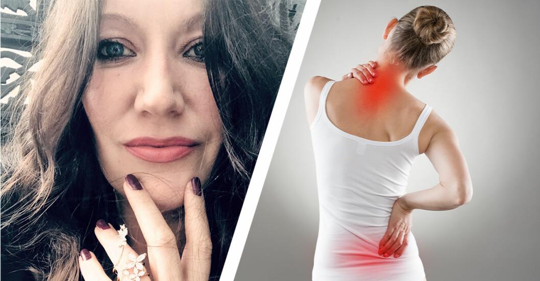 Petra Nilsson har fibromyalgi