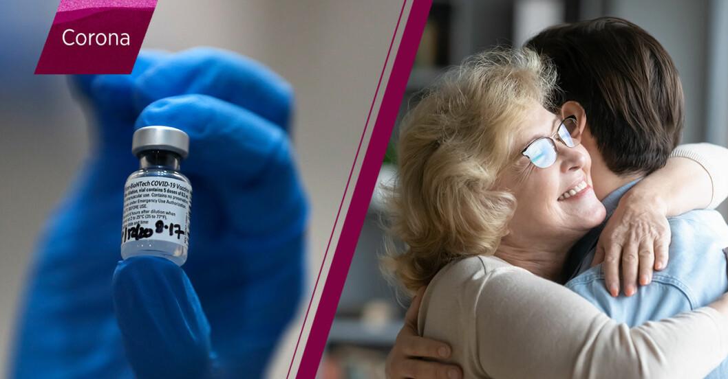 Pfizers nya coronavaccin ger skydd mot covid-19 inom tio dagar.