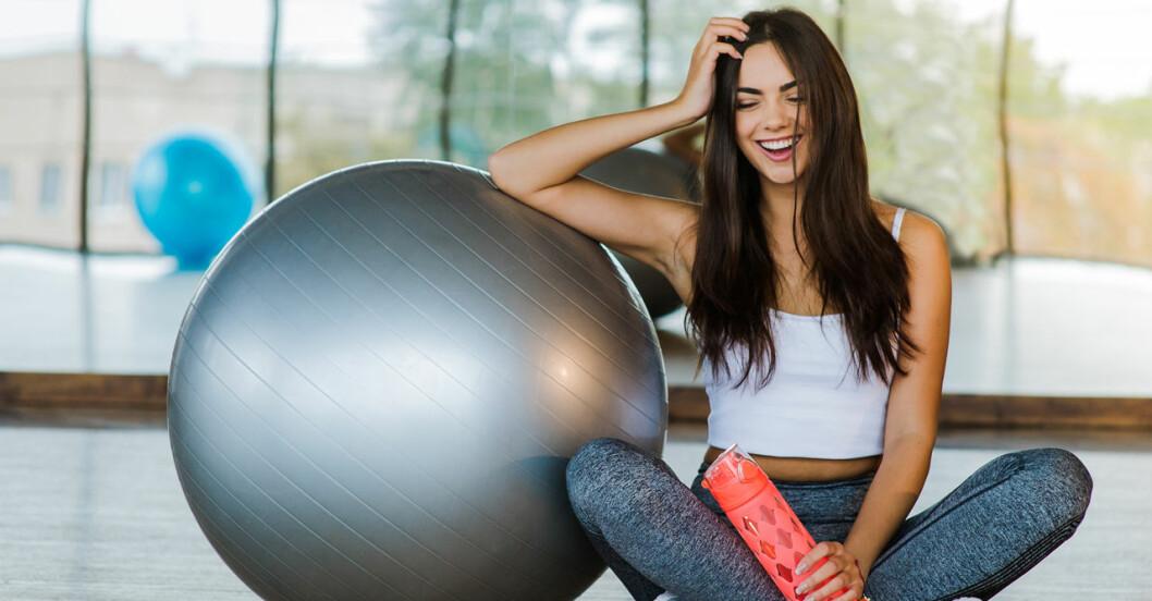 Den som är trött kan få ny energi av att träna.