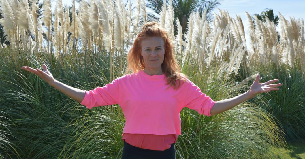 Pippi (Ann-Sofie Karlsson) höll pass på träningsresan