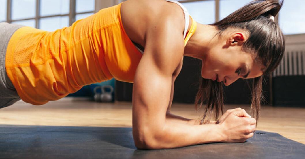 Är plankan bästa övningen för magen?