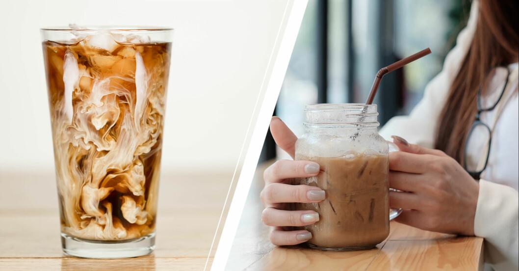 proffee är den nya proteinrika trenddrycken med kaffe och proteindryck