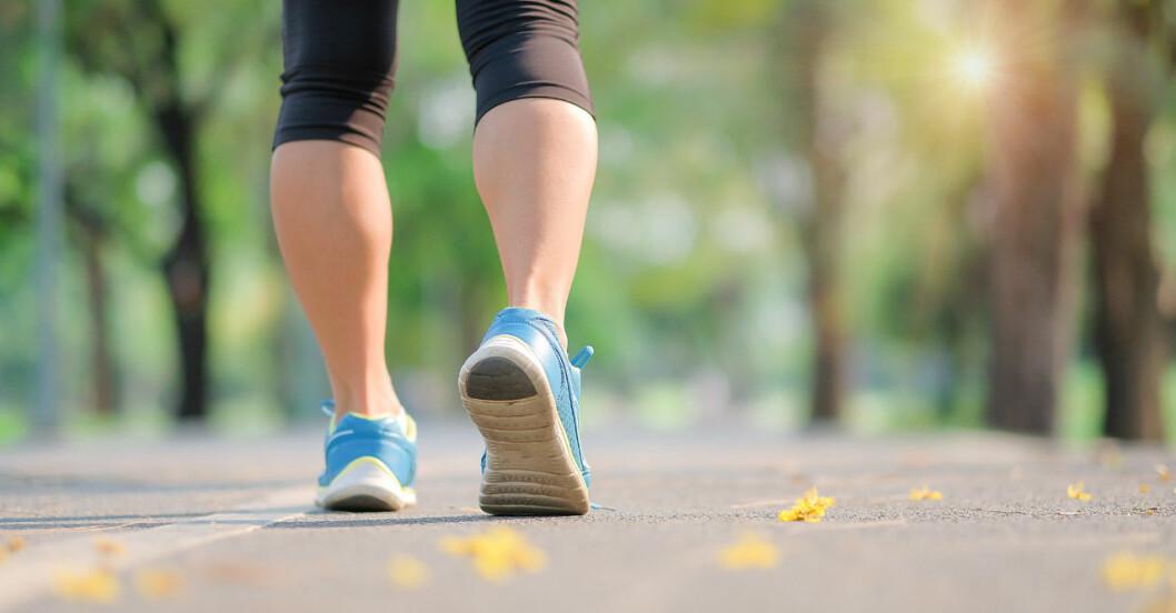 10 hälsoeffekter som 30 minuter promenad ger.