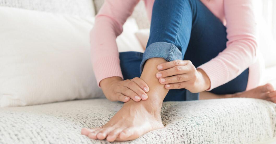 Hur vet man om det är en blodpropp i benet?