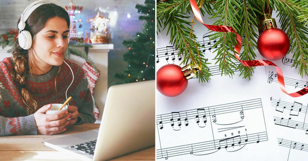 Detta lyssnar vi på till jul.