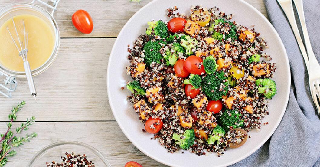 Bränn fett med quinoa