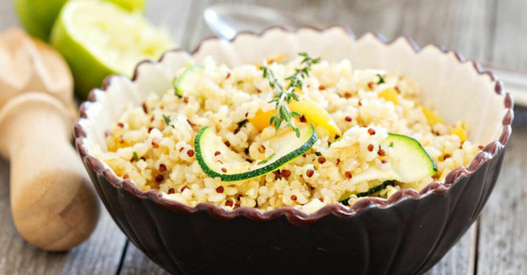 10 enkla recept med quinoa.