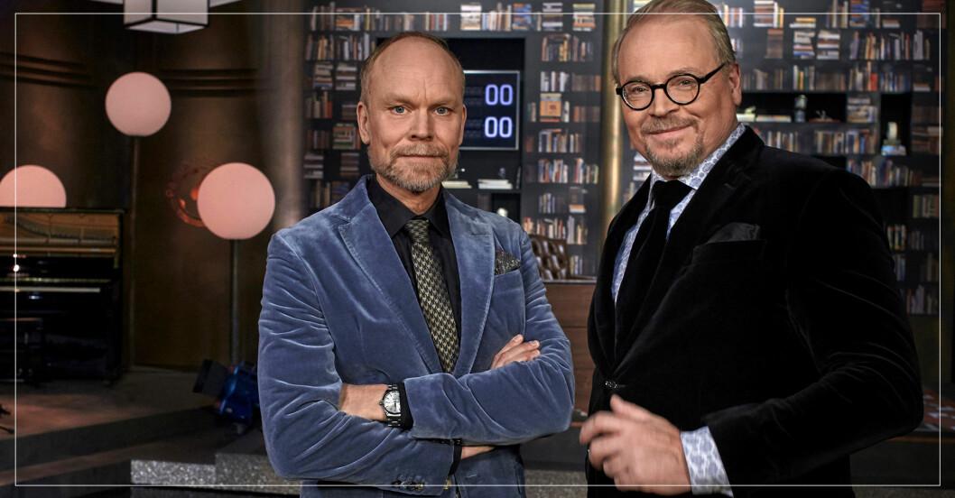 Kristian Luuk och Fredrik Lindström från På Spåret