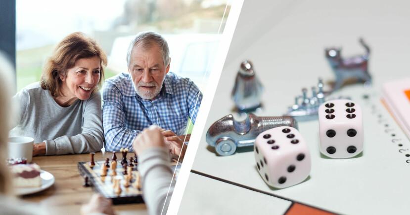 Par spelar schack