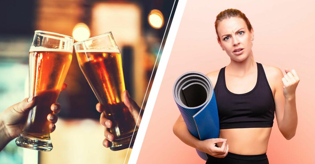 rage yoga öl svordommar