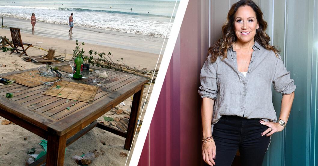 Renée Nyberg och Bali efter terrorattentatet