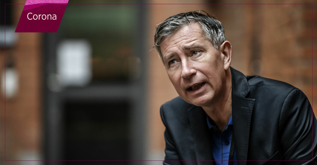 Vaccinsamordnare Richard Bergström