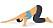 Rörlighetsövning för rygg: Nålsögat