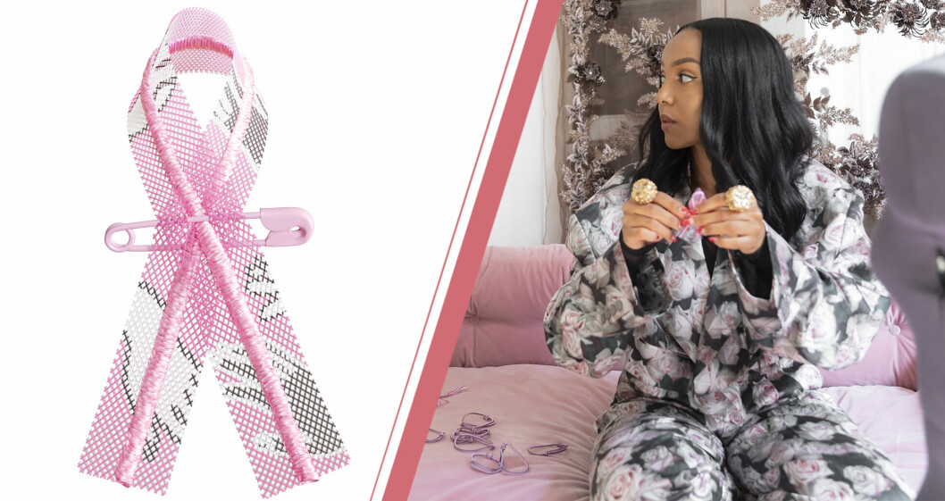 Selam Fessahaye designar årets rosa bandet