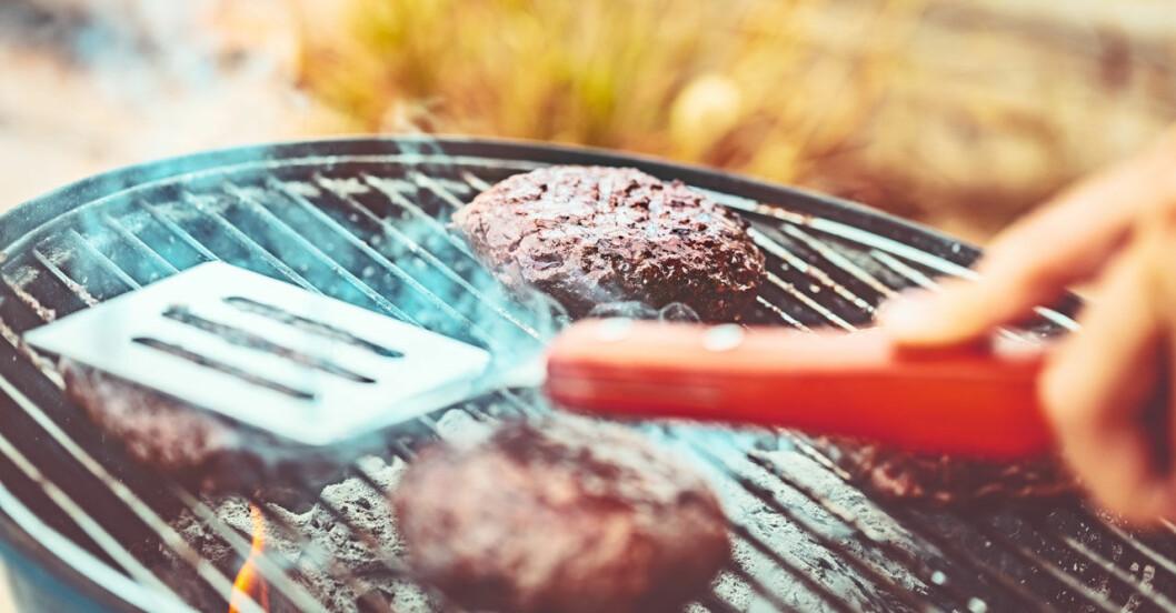 Vill du ha hamburgaren lite röd i mitten? Nej, inte nu under rötmånaden.
