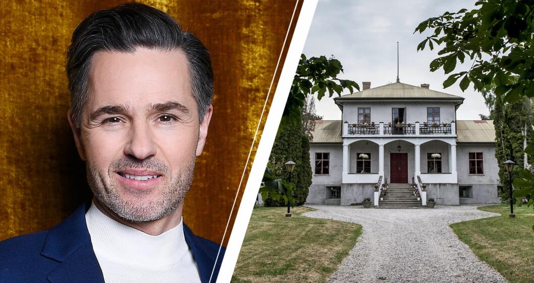 Peter Jöback och pensionat Grå Gåsen på Gotland där Så mycket bättre spelas in.