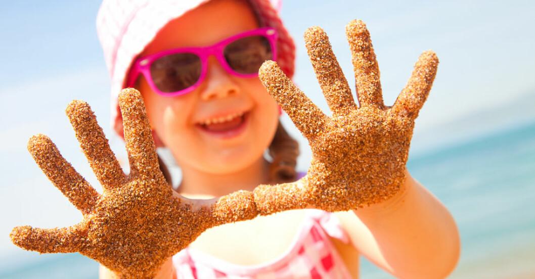 Om du trodde att sanden var ren så trodde du fel!