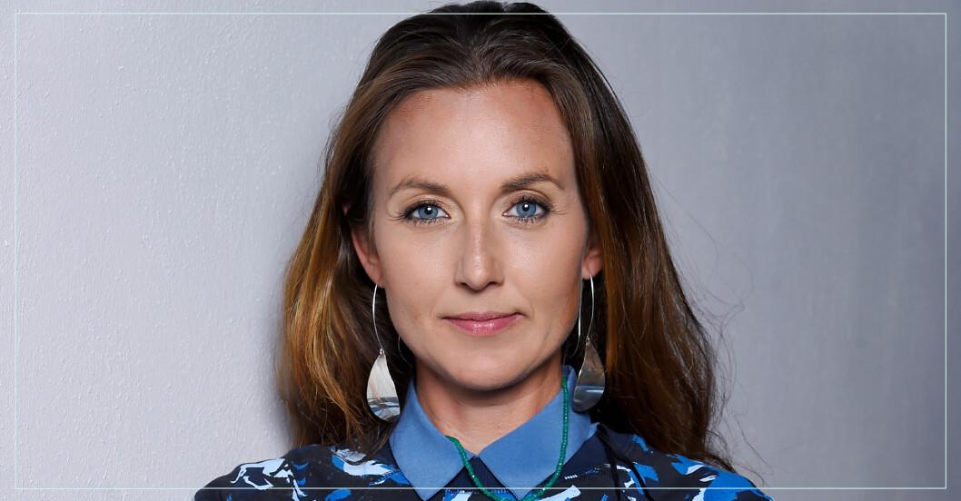 Sanna Lundell om ryggsmärtan efter sonen Fox olycka