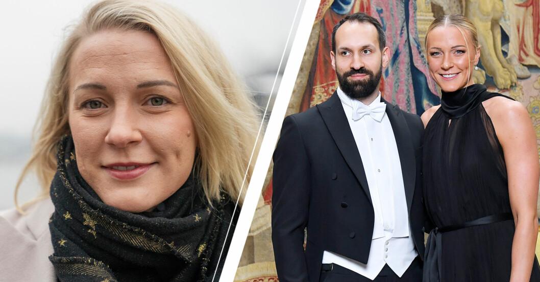 """Därför stoppas Sarah Sjöströms barnplaner med Johan: """"Förstört""""."""