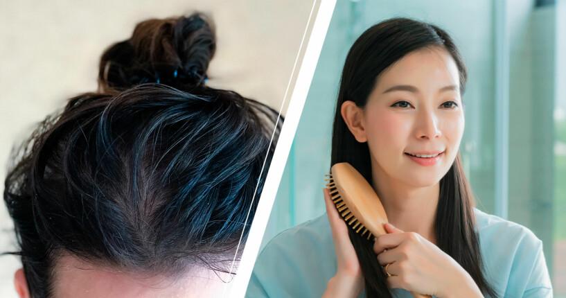 Schampo för fett hår