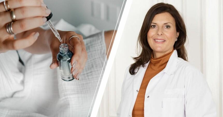 Serum och hudforskaren Johanna Gillbro