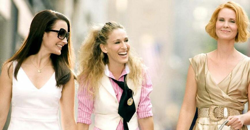 Carrie, Miranda och Charlotte