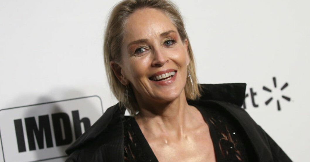 Skådespelaren Sharon Stone