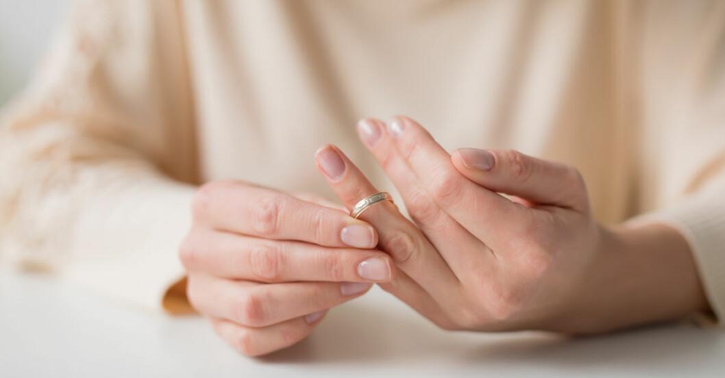 Vännerna ökar risken för skilsmässa.