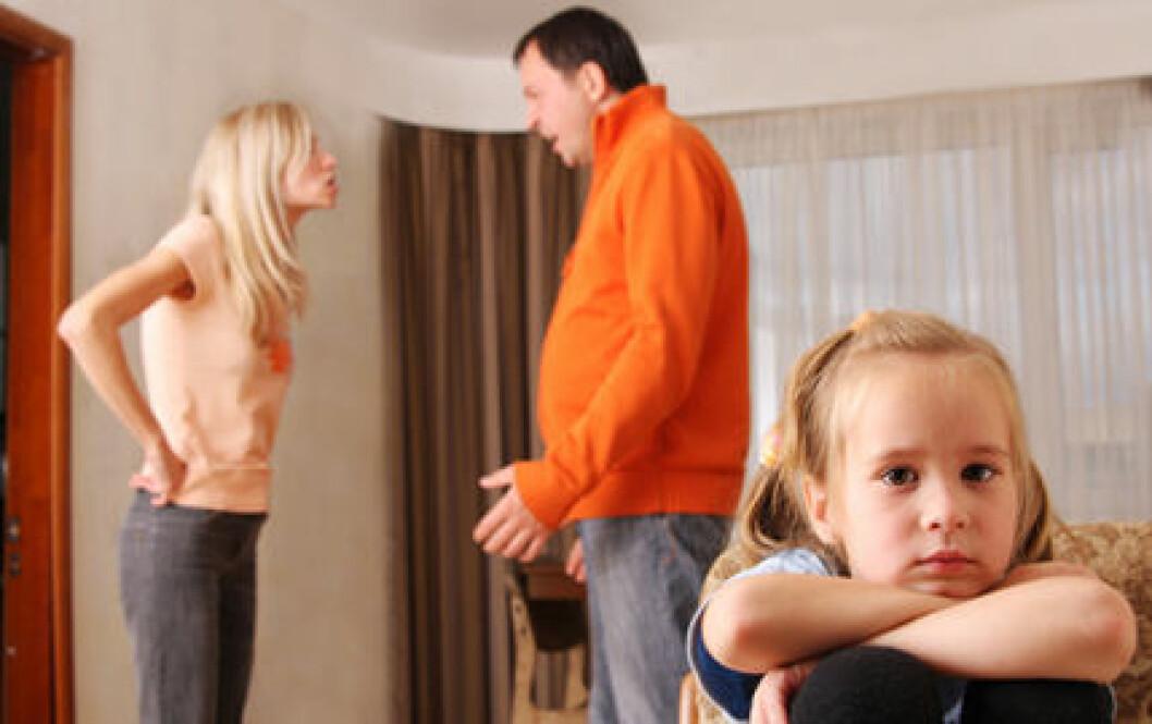 Det är viktigt att inte blanda in barnen i konflikterna, enligt experten.