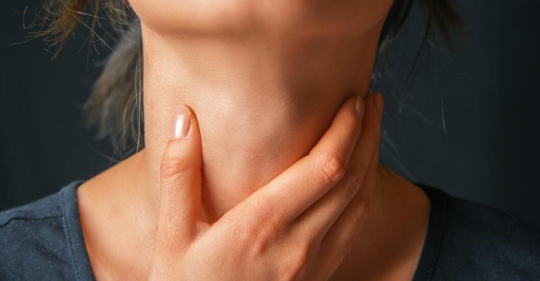 Stor guide: Alla symtom på problem med sköldkörteln.