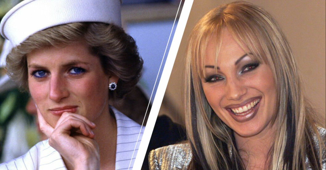 Prinsessan Diana och Charlotte Perrelli