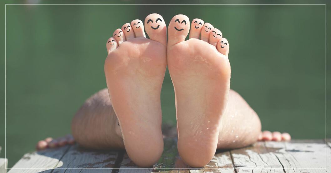 Så slipper du svettiga, illaluktande fötter i sommar