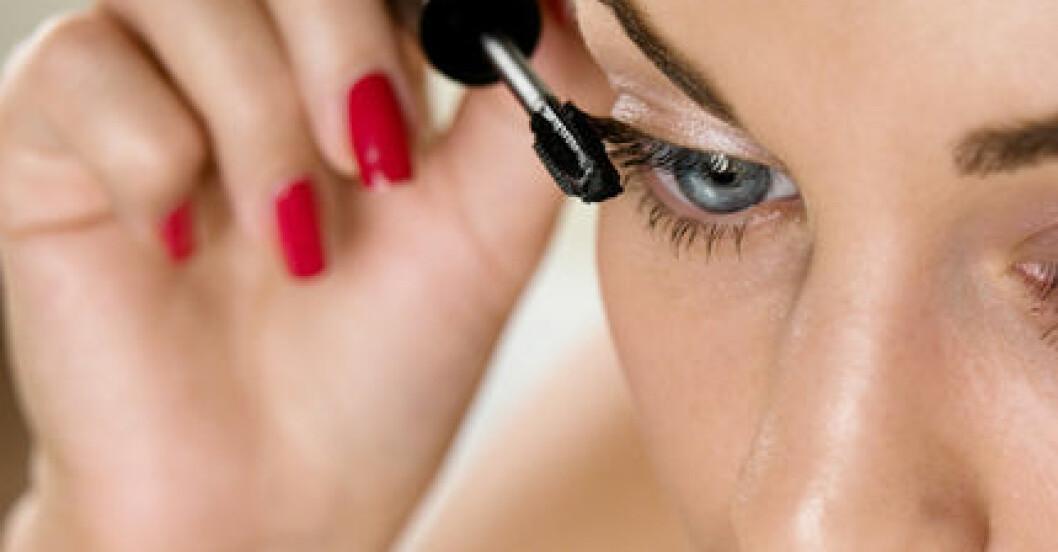En markerad fransrad ger större ögon.