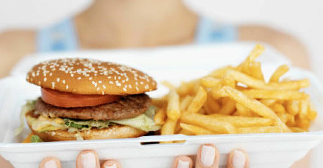 Hur många kalorier innehåller en hamburgare egentligen?
