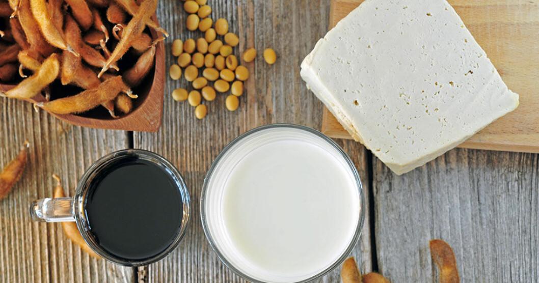 Det är bra att äta sojaprotein under klimakteriet