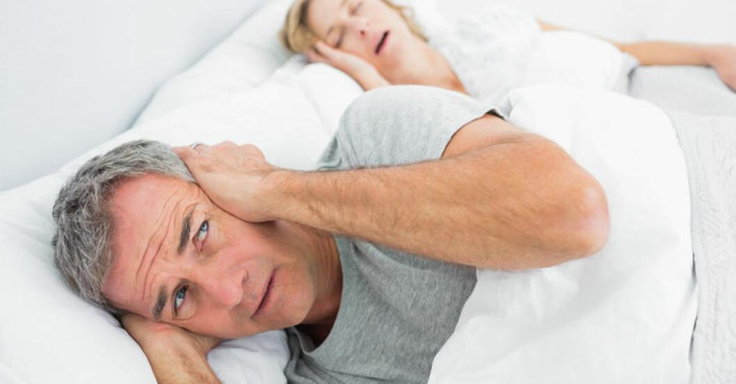 Sömnapné vanligt hos kvinnor.