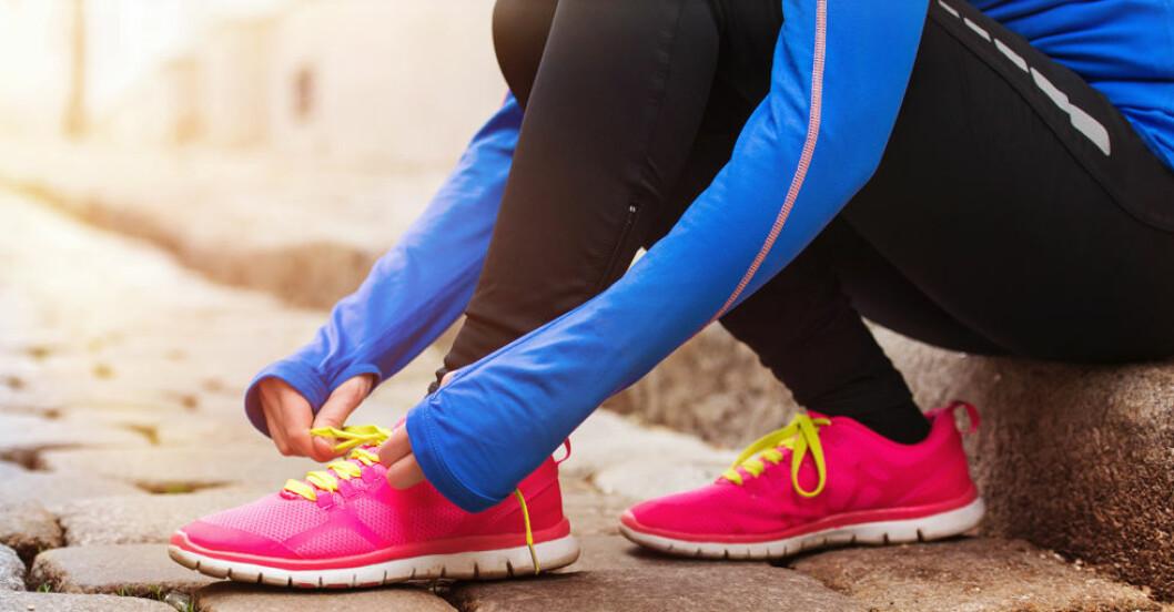 Konditionsträning är det allra bästa för att förebygga och lindra stress.