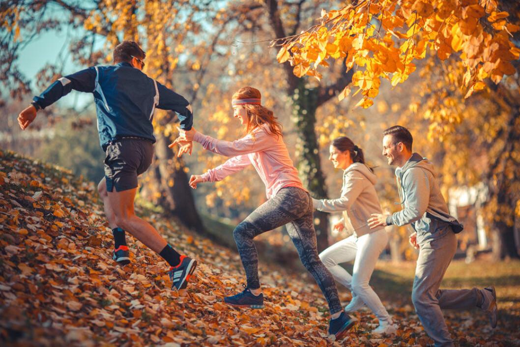 Du kan få ett skydd mot stress om du tränar.