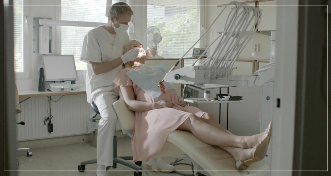 Alex i solsidan jobbar som tandläkare
