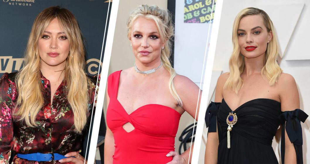 Hilary Duff, Britney Spers ch Margot Robbie